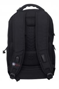 Черный повседневный рюкзак с нашивкой АФГАН - заказать выгодно