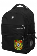 Черный повседневный рюкзак с нашивкой Погранслужбы