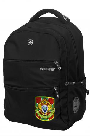 Черный повседневный рюкзак с нашивкой Погранслужбы - заказать онлайн