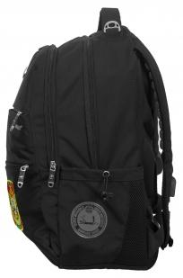 Черный повседневный рюкзак с нашивкой Погранслужбы - купить онлайн