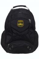Черный рюкзак с эмблемой Танковых войск