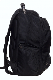 Заказать черный рюкзак с эмблемой Танковых войск