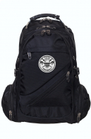 Черный рюкзак с эмблемой Торез Оплот Спецназ