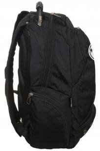 Черный рюкзак с символичным шевроном Торез Оплот Спецназ купить в подарок