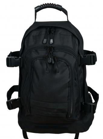 Черный рюкзак универсального назначения 3-Day Expandable Backpack 08002B Black от Военпро