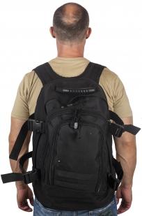 Купить черный рюкзак универсального назначения 3-Day Expandable Backpack 08002B Black