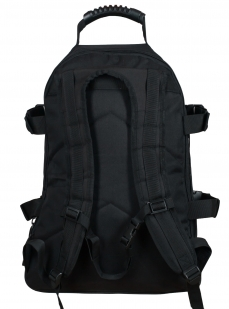 Черный рюкзак универсального назначения 3-Day Expandable Backpack 08002B Black с эмблемой МВД заказать в Военпро