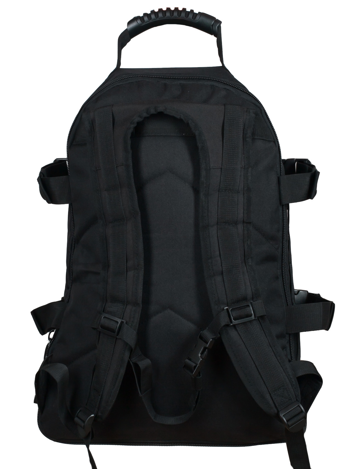 Черный рюкзак универсального назначения с нашивкой РХБЗ купить с доставкой или самовывозом