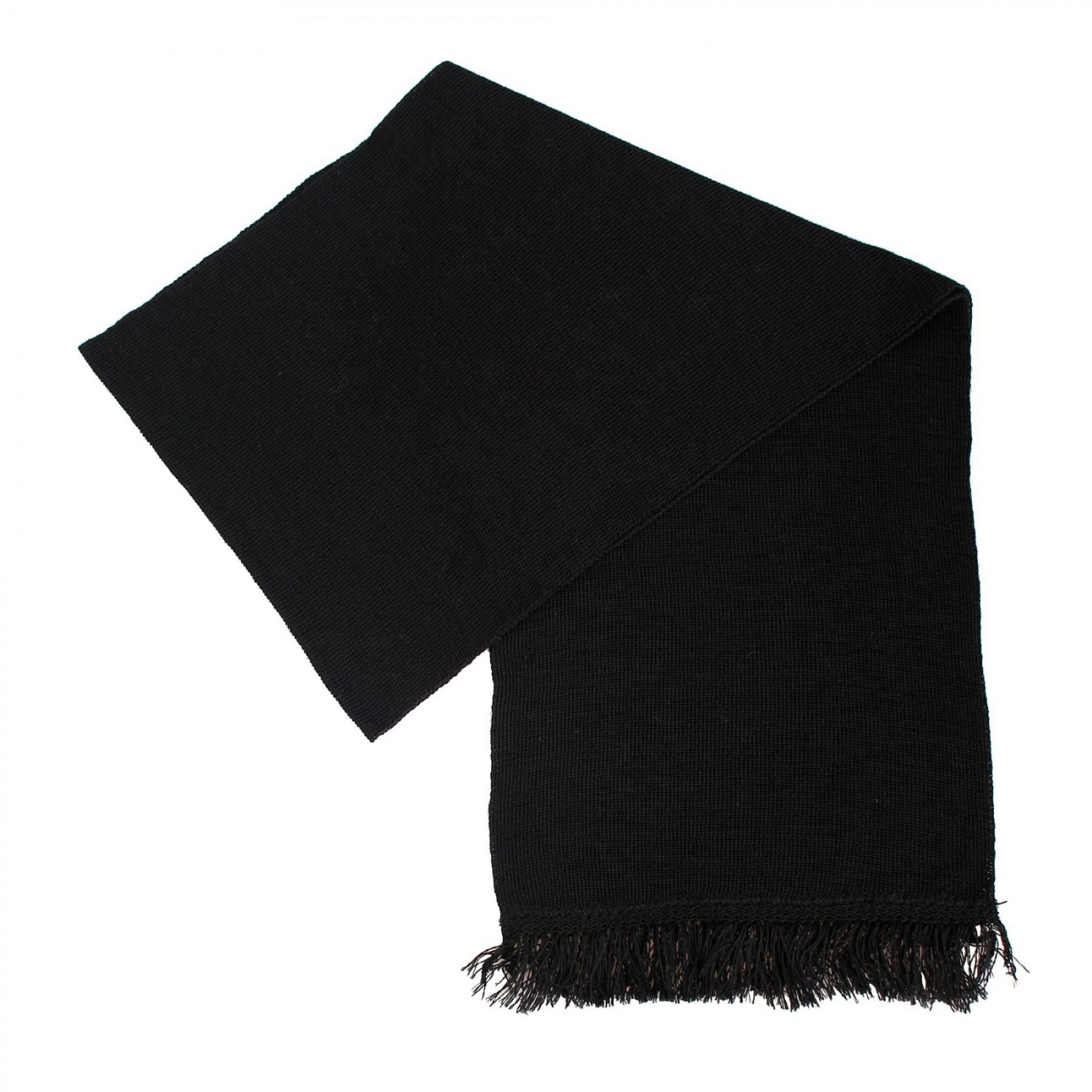 Заказать черный шарф (кашне, уставной) в Военпро