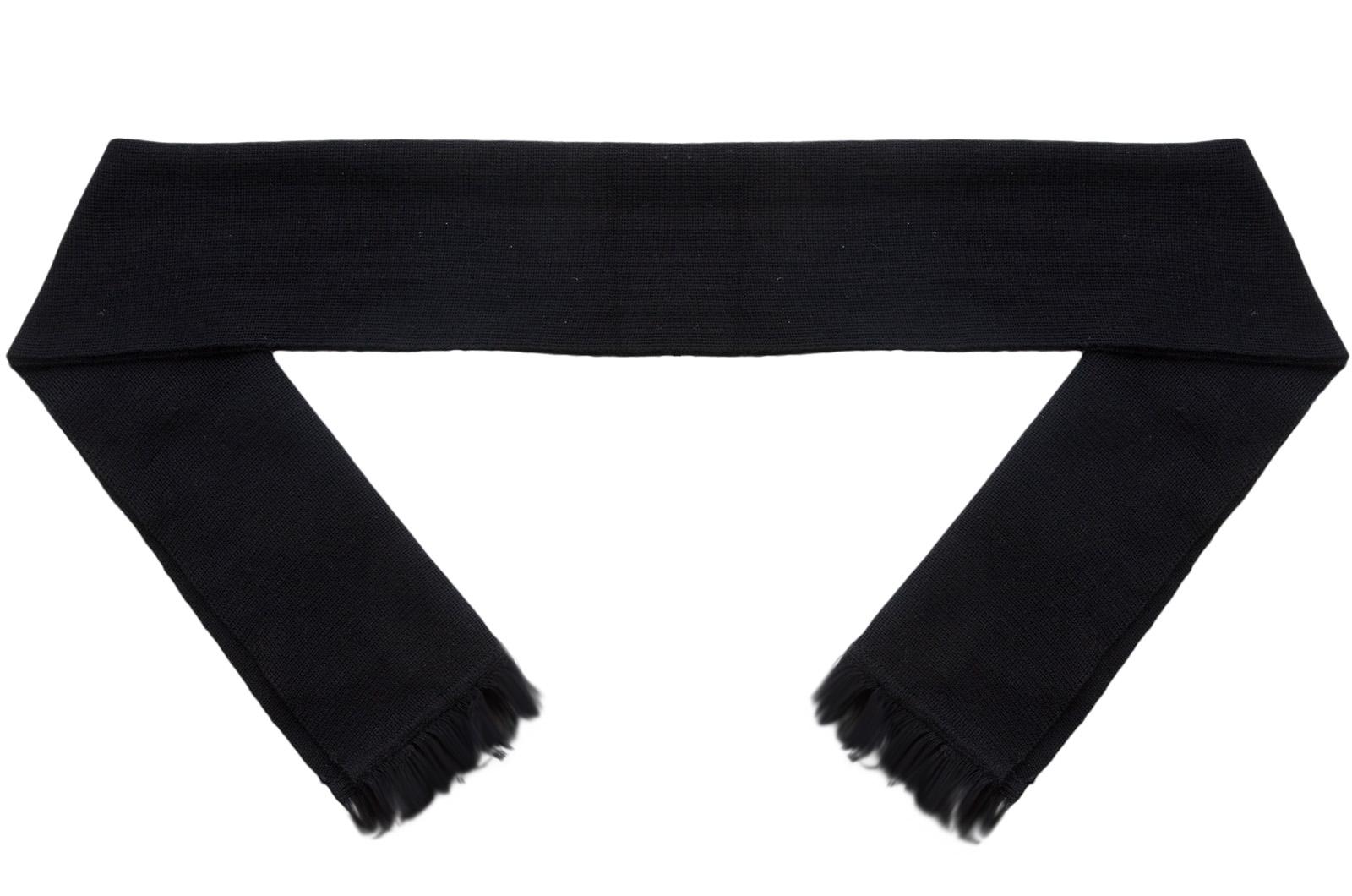 Черный шарф (кашне, уставной)