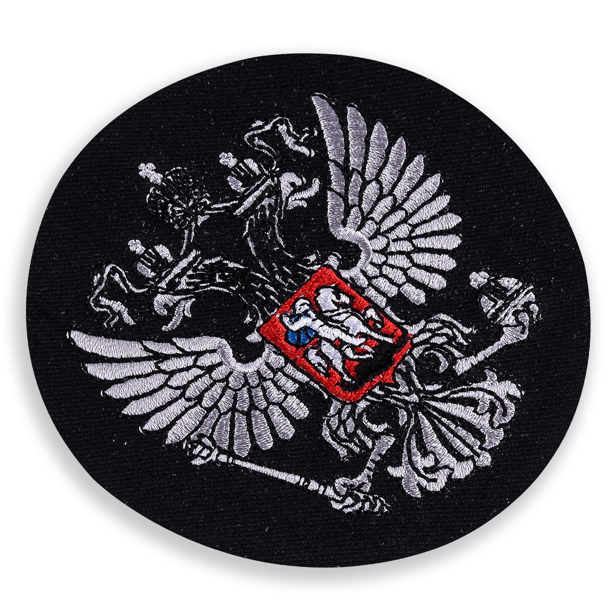 Чёрный шеврон Герб России
