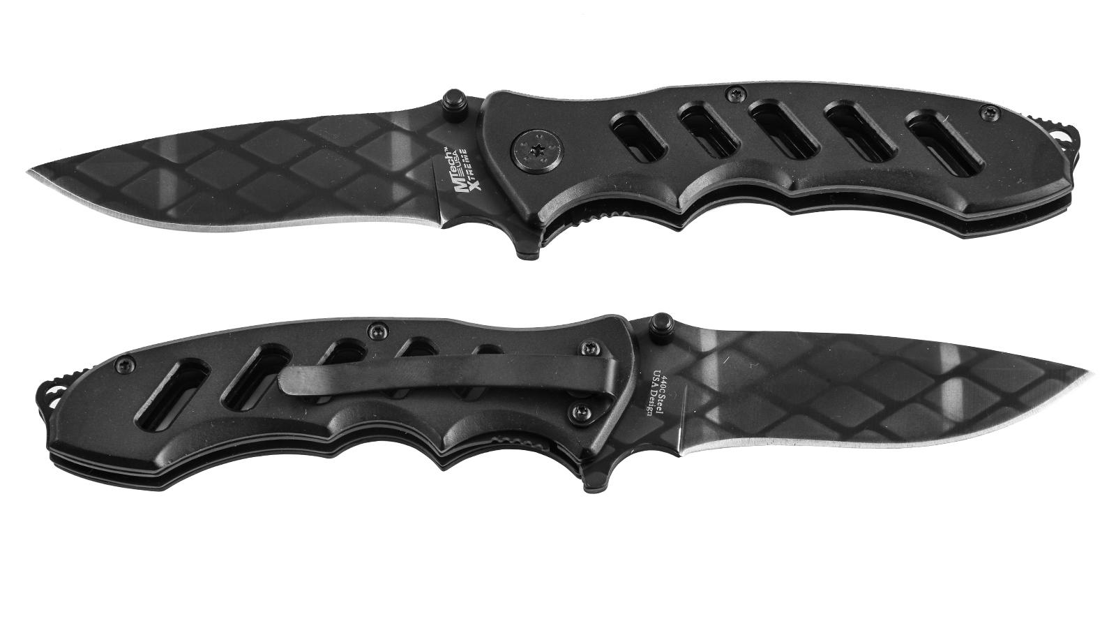 Черный складной нож MTech MX-8027A Xtreme Premium по выгодной цене