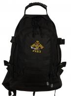 Черный тактический рюкзак с эмблемой РХБЗ