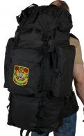 Черный тактический рюкзак с нашивкой Погранслужбы