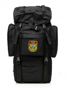 Черный тактический рюкзак с нашивкой Погранслужбы - заказать по выгодной цене