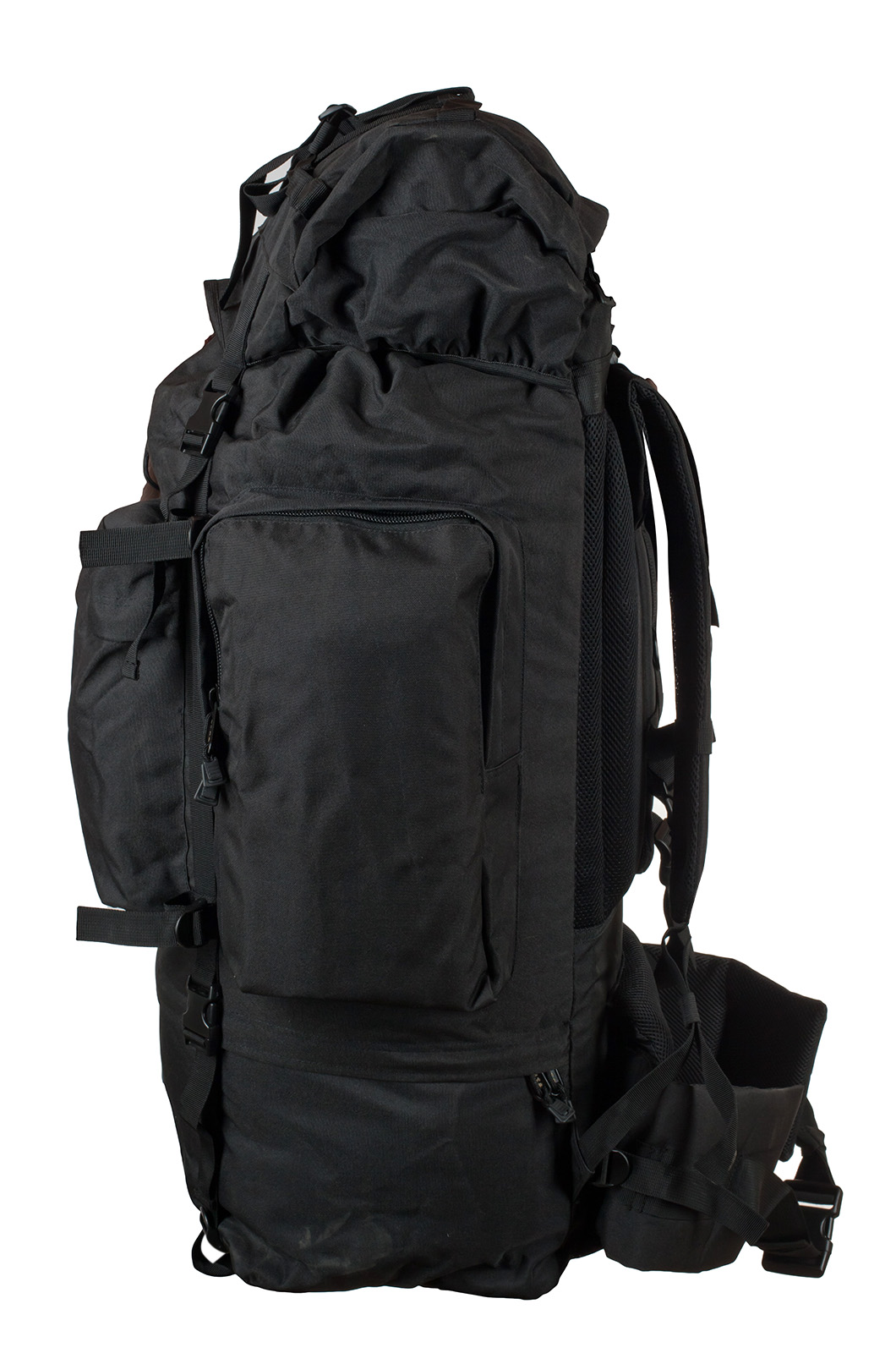 Черный тактический рюкзак с нашивкой Погранслужбы - заказать оптом