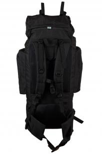 Черный тактический рюкзак с нашивкой Погранслужбы - заказать в розницу