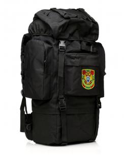 Черный тактический рюкзак с нашивкой Погранслужбы - купить по выгодной цене