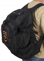 Черный тактический рюкзак с нашивкой Полиция России