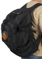 Черный тактический рюкзак с нашивкой УГРО