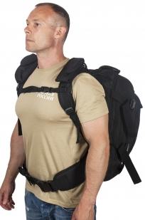 Черный тактический рюкзак с отделением для гидратора 3-Day Expandable Backpack Black по выгодной цене