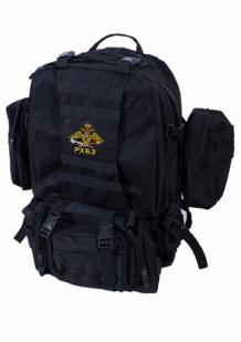 Черный трехдневный рюкзак с эмблемой РХБЗ купить онлайн