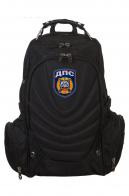 Купить черный удобный рюкзак с нашивкой ДПС