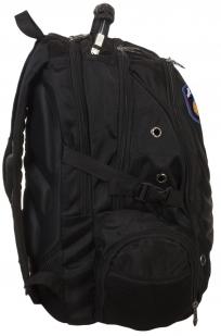 Черный удобный рюкзак с нашивкой ДПС купить по разумной цене