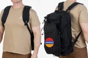 Чёрный универсальный рюкзак Армения
