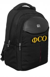 Черный универсальный рюкзак ФСО - купить в розницу