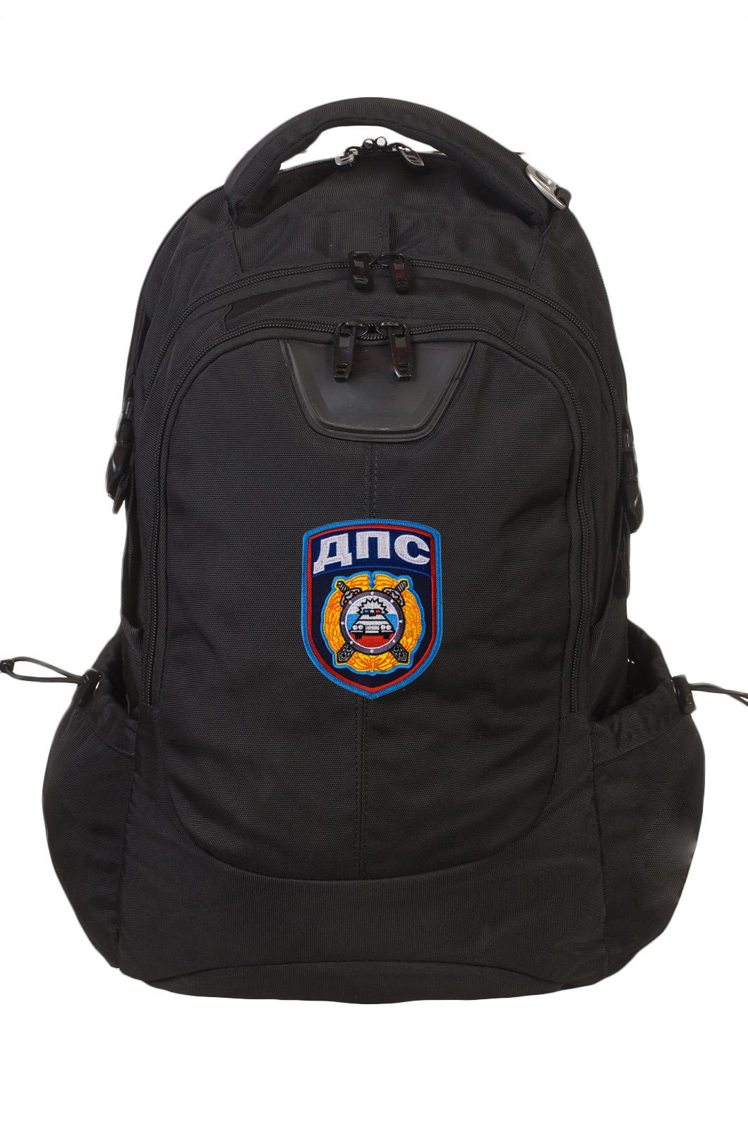 Черный универсальный рюкзак с нашивкой ДПС