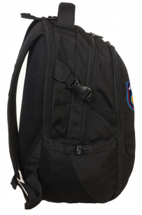 Черный универсальный рюкзак с нашивкой ДПС - купить выгодно