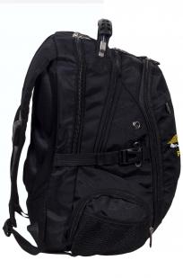 Заказать черный универсальный рюкзак с шевроном РХБЗ
