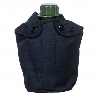 Купить черный утепленный чехол для тактической фляги
