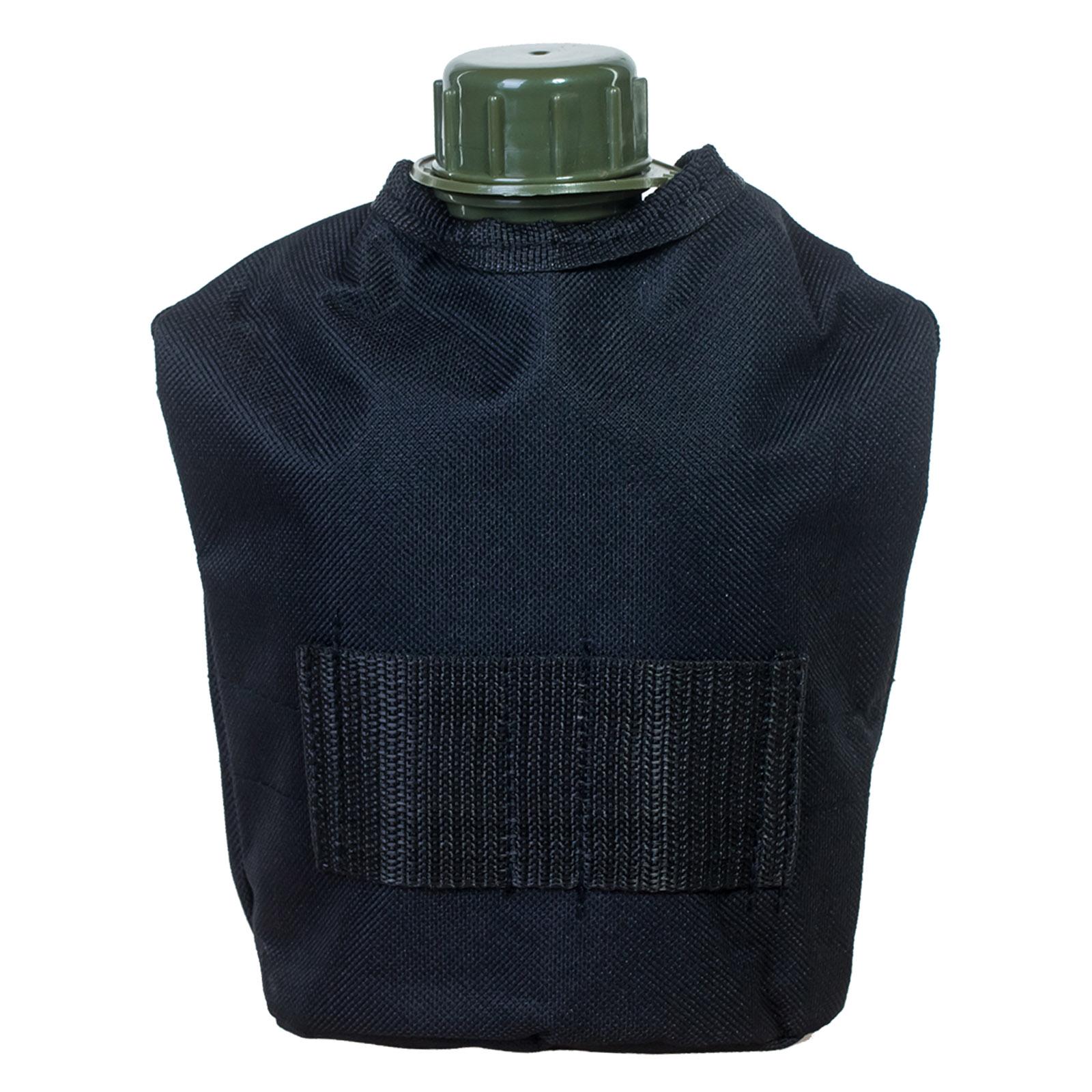 Черный утепленный чехол для тактической фляги с доставкой