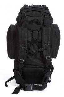 Черный вместительный рюкзак с нашивкой Охотничий Спецназ - купить онлайн