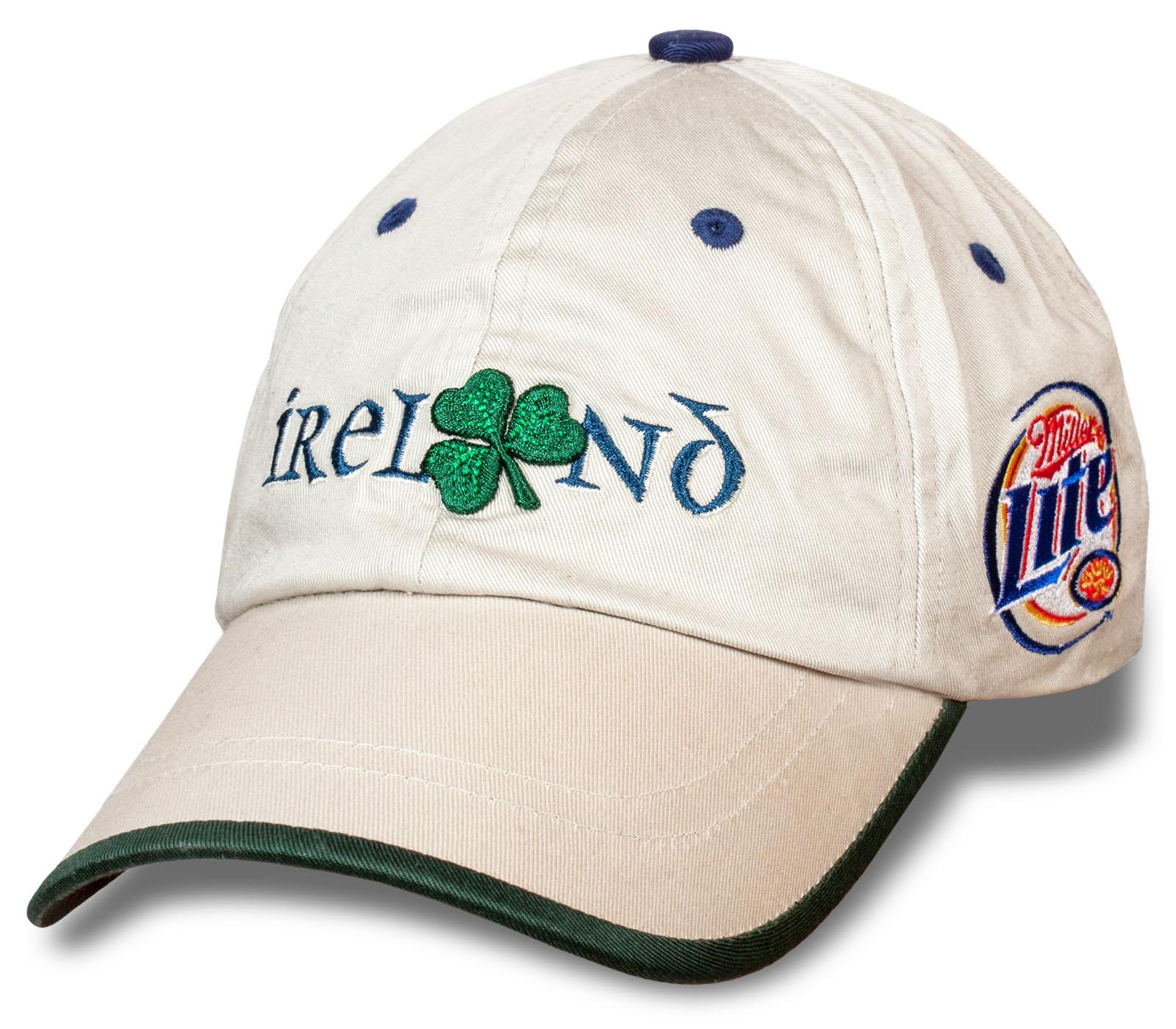 Чёткая бейсболка Miller Lite Ireland