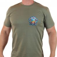 "Чёткая футболка с термотрансфером ""Победа"""