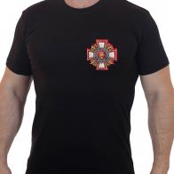 """Чёткая футболка с термотрансфером """"Потомственный казак"""""""
