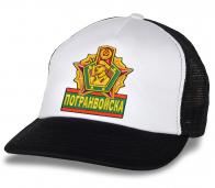 Четкая кепка Погранвойска с вышивкой.