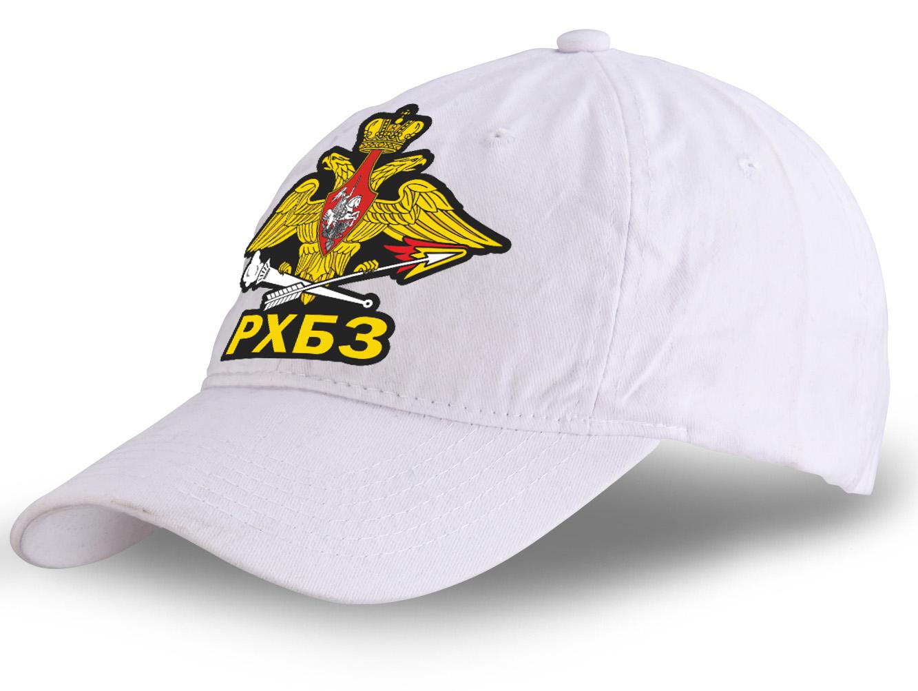Чёткая летняя кепка с наклейкой РХБЗ