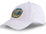 """Чёткая летняя кепка с термотрансфером """"Балтийский флот"""""""
