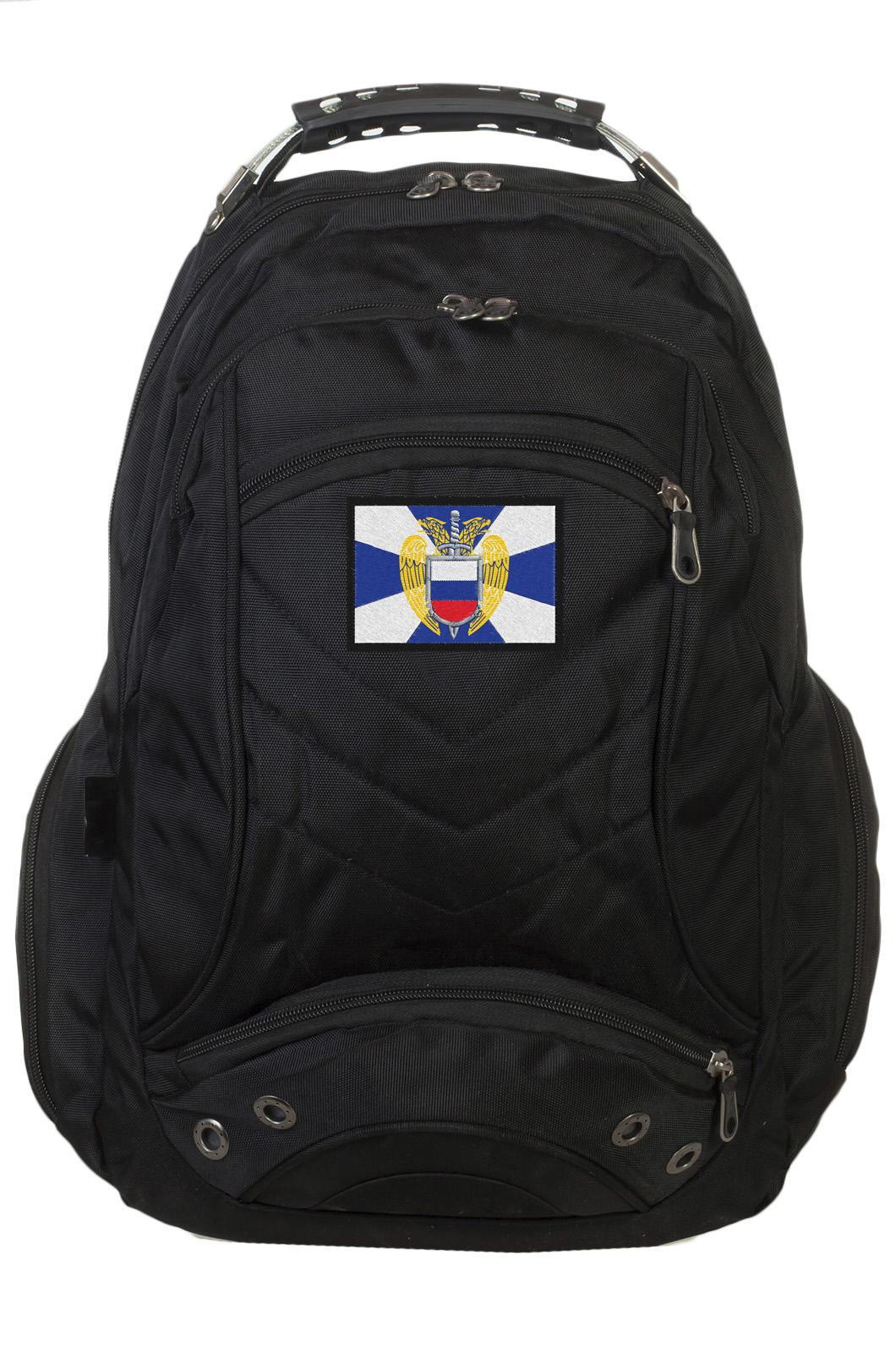 Четкий городской рюкзак с гербом ФСО