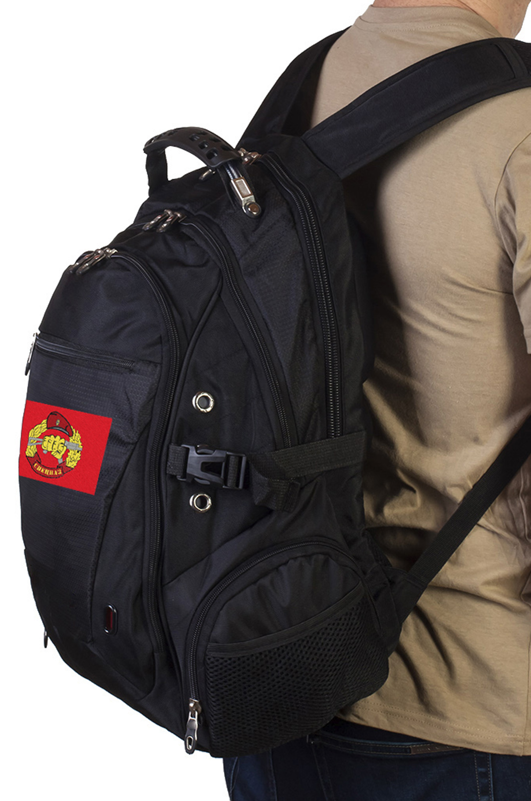 Четкий городской рюкзак с нашивкой СПЕЦНАЗ купить с доставкой