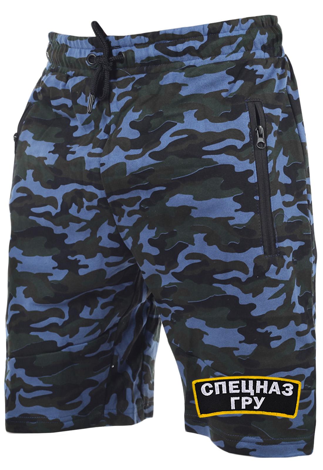 Мужские спецназовские шорты ГРУ