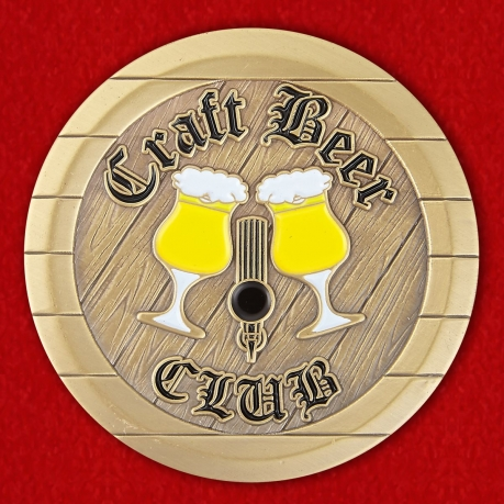 Craft Beer Club Spangdahlem AB, Germany Challenge Coin