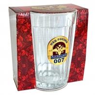 Классический граненый стакан Полиция