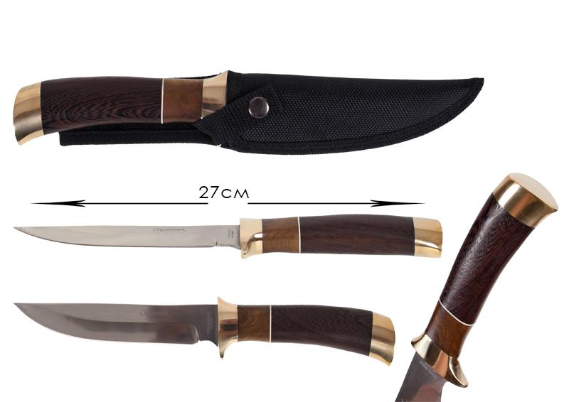 Дамасский охотничий нож (№85)