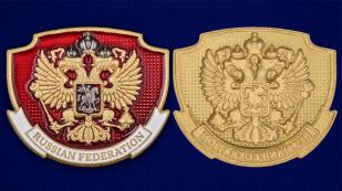 Декоративная накладка с гербом РФ универсального крепления
