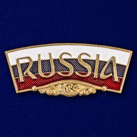 """Декоративный шильдик """"RUSSIA"""""""
